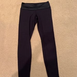 Lulu full length black leggings
